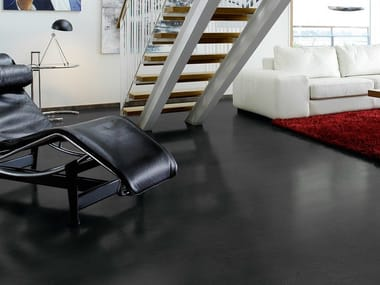 Laminate flooring with stone effect MEDIUM GREY SLATE