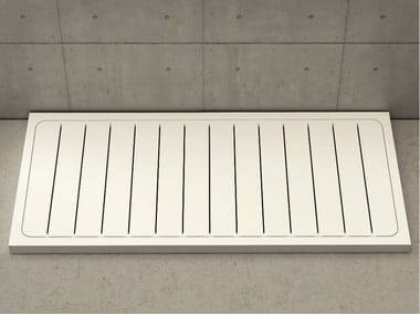 Rectangular shower tray LINEA