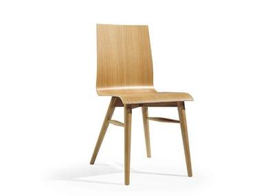 Cadeira de madeira COFFE MAD