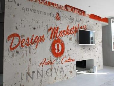 Wall effect vinyl wallpaper DESIGN MARKETPLACE
