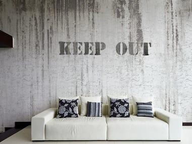 Wall effect vinyl wallpaper POINT BLANK