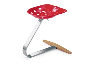 Industrial style stool MEZZADRO 220