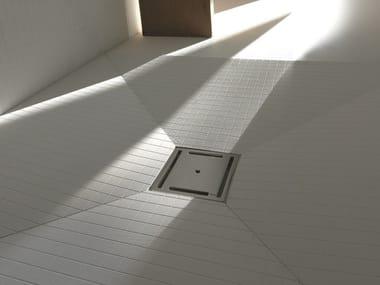 Scarico per doccia in acciaio inox OLIFILO CENTRO