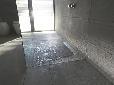 Scarico per doccia in acciaio inox OLIFILO LATO