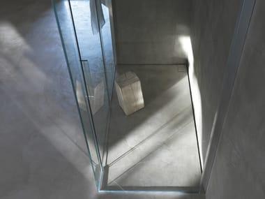 Stainless steel shower channel OLIFILO BILATO