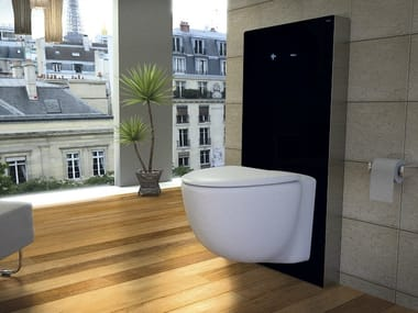 Sanitary module for toilets QR-INOX