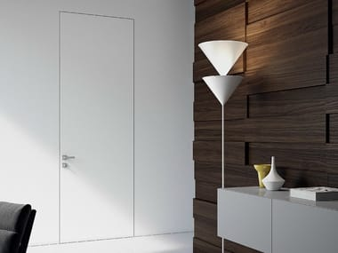 Flush-fitting lacquered door SEGNO | Flush-fitting door