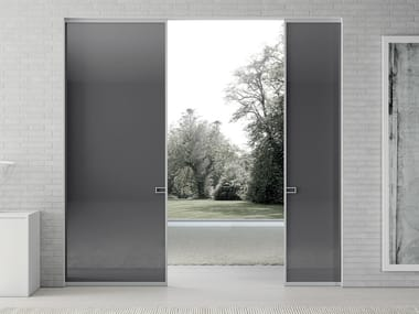 Crystal pocket sliding door LESS | Pocket sliding door
