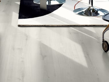 Laminate flooring with wood effect CLASSIC WHITE OAK  PLANK