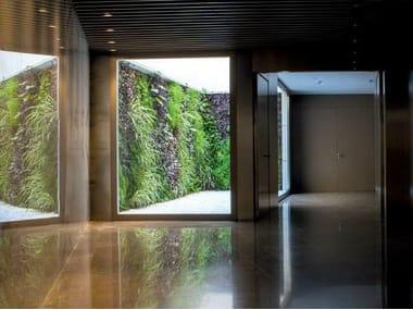 Murs végétaux d'extérieur
