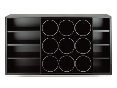 Lacquered honeycomb sideboard SPEED 744/132