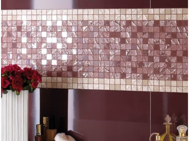 Porcelain stoneware mosaic FOUR SEASONS