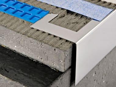 Profilo e scossalina per impermeabilizzazione in acciaio PROTERRACE PTER