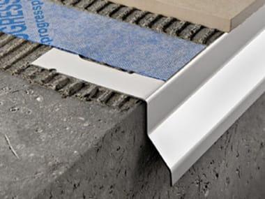 Profilo e scossalina per impermeabilizzazione in acciaio PROTERRACE PC