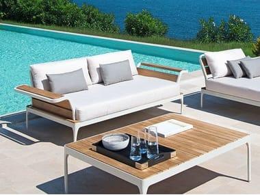 2 seater fabric sofa MERIDIEN | 2 seater sofa