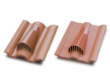 Cement roof tiles vent Cement roof tiles vent