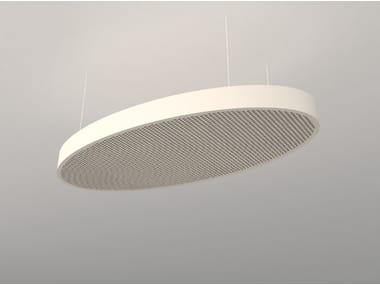 Hanging acoustical panel / pendant lamp NCA O6012-9018-1224 | Pendant lamp