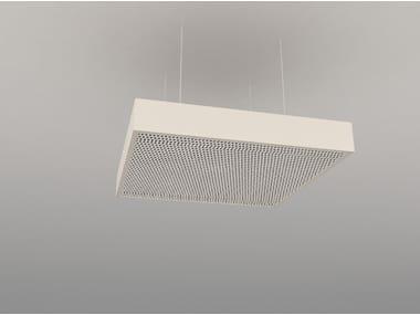 Pannello acustico a sospensione / lampada a sospensione NCA S600-900-1200 | Lampada a sospensione