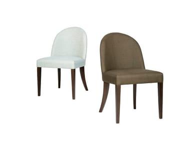 Fabric restaurant chair GRAPE