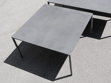 Mesa quadrada de cimento BOIACCA | Mesa quadrada