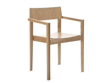 Chair with armrests INTRO B | Chair with armrests