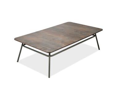 Rectangular garden side table PORTOFINO | Rectangular coffee table