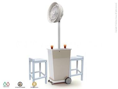 Floor standing misting fan ATMOSFERA 90
