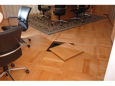 Modular system for raised flooring Modular system for raised flooring