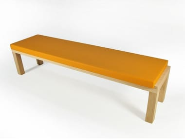 Upholstered wooden bench CAMPING BENCH 220 | Upholstered bench