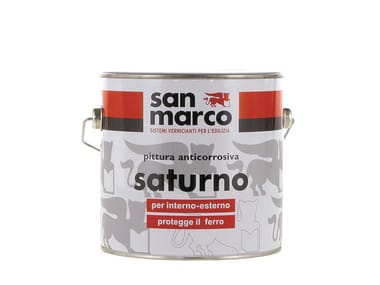 Anti-corrosive and anti-rust paint SATURNO