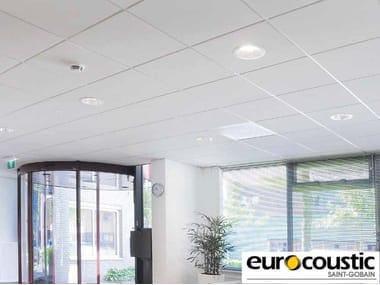 Acoustic rock wool ceiling panels Tonga® E