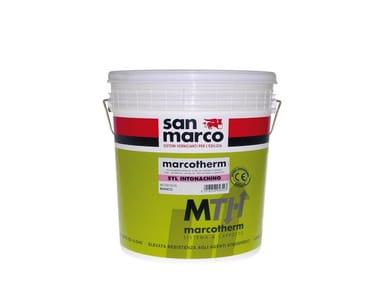Dehumidifying plaster MARCOTHERM-SYL INTONACHINO