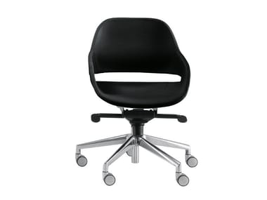 Task chair with 5-Spoke base with casters EVA 2270