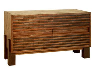 Madia in legno con cassetti MIRAI   Madia