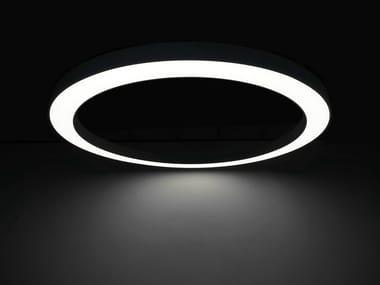 LED pendant lamp LARGE CIRCLE LED LIGHT
