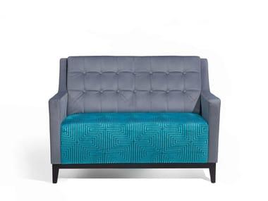 Sofá pequeno de tecido NOTY DOUBLE