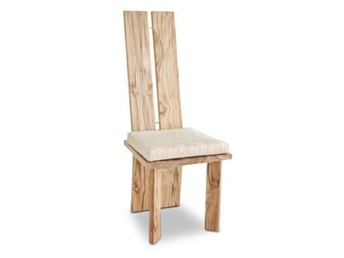 High-back wooden chair ORIGINS | Chair