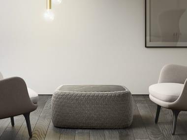 Tavolino basso rettangolare BIGUN | Tavolino