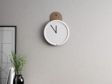 Wall-mounted marble clock TANKO | Clock