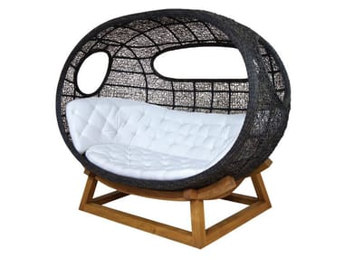 Igloo 3 seater rattan sofa ONDA | Igloo sofa