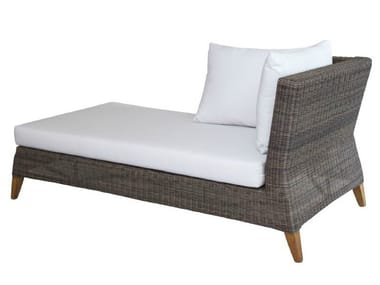 Rattan day bed / garden daybed SHELLY | Day bed