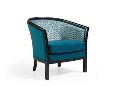 Cadeira lounge de tecido E500