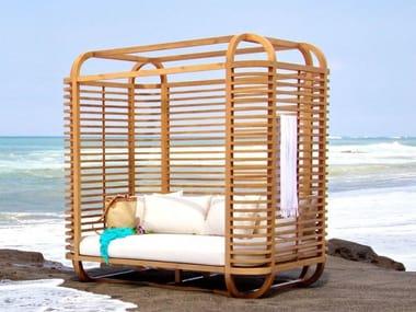 Igloo wooden garden bed LUN - KOON   Garden bed