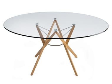 Crystal table ORIONE
