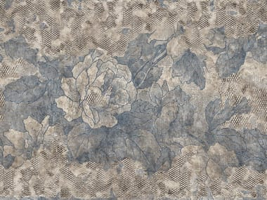 Wallpaper with floral pattern BROCART