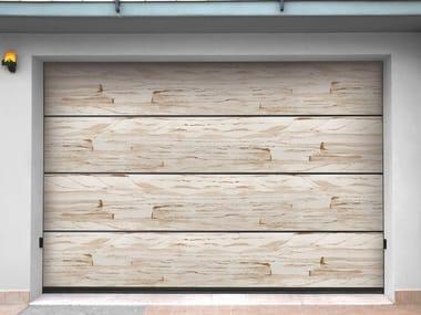 Sectional sandstone garage door SANDSTONE JEWELS