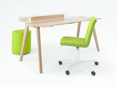 Wooden office desk TABLE.H