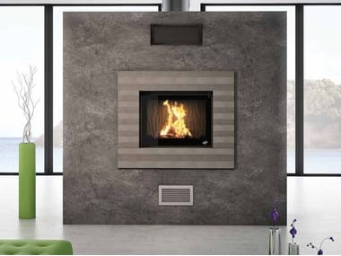 Wood Burning Built In Fireplace Alba