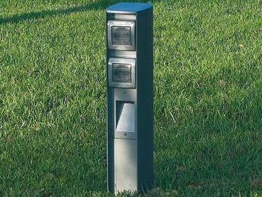 Aluminium bollard light / Power distribution unit SERVER POINT