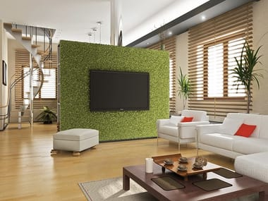 Synthetic grass indoor vertical garden DIVY PUZZLE